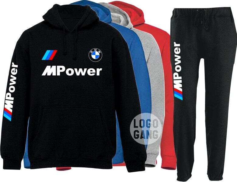 M Power, AMG arba S Line treninginis kostiumas vyrams ir moterims