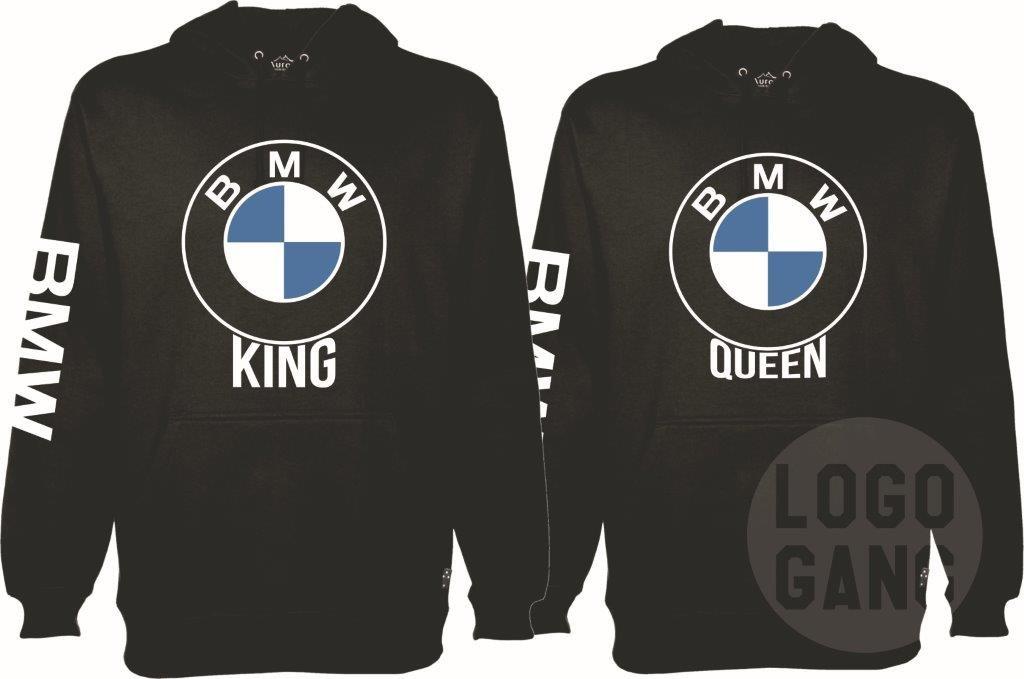 King Queen autofanų džemperiai poroms