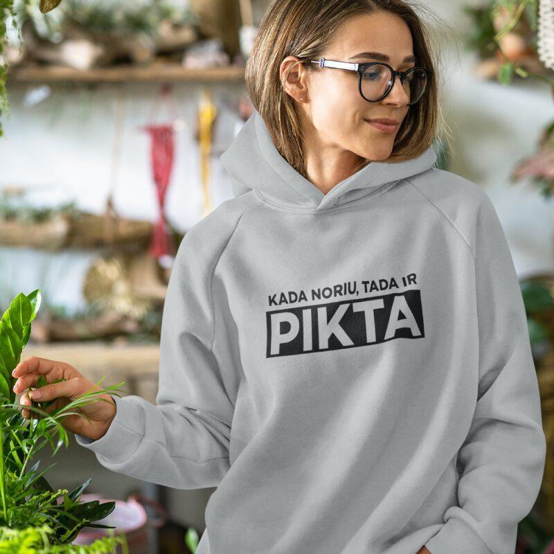 Kada noriu tada ir PIKTA džemperis