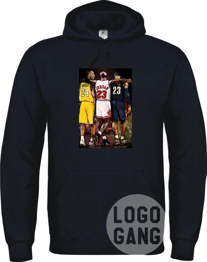 Džemperis su NBA paveiksliuku arba foto