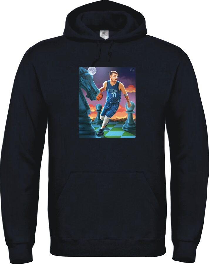 Krepšinio ir NBA fanų džemperis su TAVO nuotrauka
