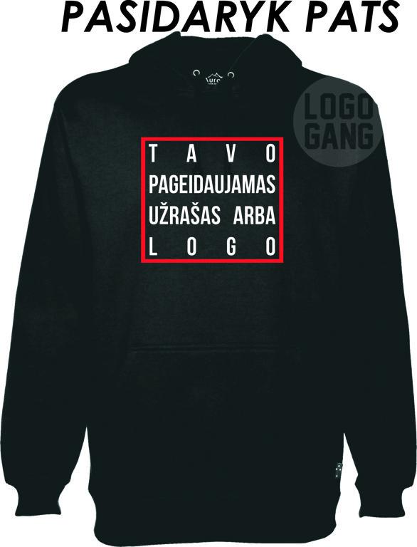 Džemperis su TAVO logo arba užrašu