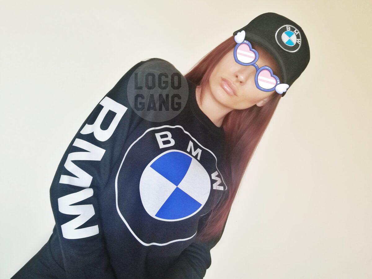 BMW moteriškas džemperis