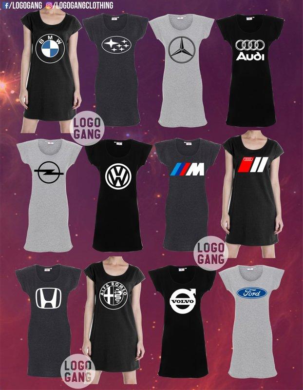 Tunika su auto logo